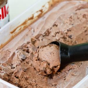 Мороженое нутелла