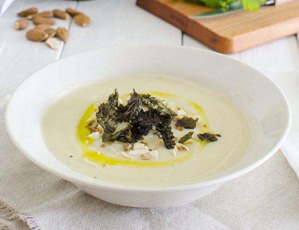 Суп пюре из цветной капусты пошаговый рецепт.